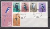 Papua New Guinea 1981 Kingfishers FDC(Alexishafen Cancellation) - Papouasie-Nouvelle-Guinée