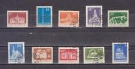 1973 - Serie Courante Mi No 3157/3166 Et Yv No - 1948-.... Repúblicas