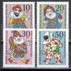 Berlin 1970 Mi. 373-376 ** Marionetten Postfrisch (br0276) - Berlin (West)