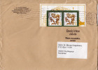 Postal History Cover: Germany Bat Stamps On Cover - Bats