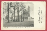 """Diest - Marché Aux Grains Et Maison """" De Burcht """" - 1901 ( Verso Zien ) - Diest"""