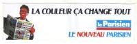 AUTOCOLLANT STICKER LE PARISIEN - Aufkleber