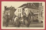 Lembeek / Lembecq - Etat-Major De Pâques( Verso Zien ) - Halle