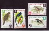 SEYCHELLES 1976 OISEAUX YVERT N°351/54 NEUF MNH** - Birds