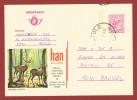 Publibel Nr 2602 Herten In Natuurreservaat Han Sur Lesse  4 Fr. - Publibels