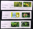 Frankreich 2012/14, Michel#  5136, 5311, 5316, 5807, 5310 + 5413 O Auf Papier - France