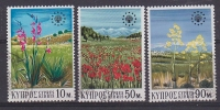 Cyprus 1970 European Nature Potection 3v Used Cto (T678) Stamps With Full Gum - Cipro (Repubblica)