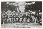 Carte Postale Ancienne  De CYCLISME : Souvenir Du Tour De France 1937-Equipe Italienne - Cyclisme