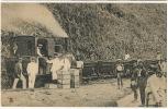 Train Close Up Spanish Colony In Africa Tren - Guinea Ecuatorial