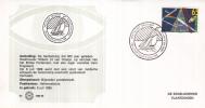 Nederland – Zegelkoerier Gelegenheidsstempels – Postvaart Brixham- Willem III/Mary - Hellevoetsluis 1988 - 1 - Post