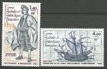 TAAF N° 84 / 85  NEUF** LUXE  SANS CHARNIERE / MNH - Terres Australes Et Antarctiques Françaises (TAAF)
