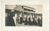 Real Photo Grouope Femmes Voilées En Noir - Egypt