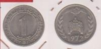 Algérie //  1 Dinar 1972  //  SUP  //  KM 104.2 - Algérie