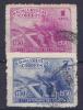 URUGUAY - 1950-   MI Nrs. 751 En/et 753 -gebruikt/oblit./usato/used - ° - Uruguay