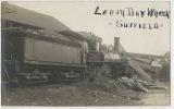 Suffield Real Photo Labor Day Wreck Train Accident - Etats-Unis