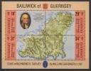 GB - Guernsey (1987) Yv. Bf. 7  /  Maps - Cartes - Mapas - Aardrijkskunde