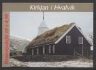 Denmark - Faroe (1997) Yv. C322 - Booklet  /  Heritage - Church - Iglesia - Eglise - Kerken En Kathedralen
