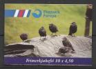 Denmark - Faroe (1998) Yv. C324 - Booklet   /  Aves - Birds - Oiseaux - Vogel - Vogels