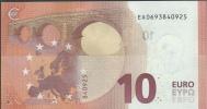 FRANCE  10 EURO  EA E001 D1   DRAGHI   UNC - EURO