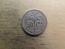 Congo-belge  50 Centimes Fr  1927  Km 22 - Congo (Belge) & Ruanda-Urundi