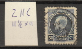 Belgie - Belgique Ocb Nr:  211C  (zie Scan ) - 1921-1925 Small Montenez