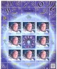 2015. Space, Alexey Leonov, 50y Of First To Walk In Space, Sheetlet Of 8v, Mint/** - Space