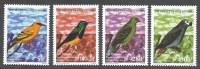 Cote D´Ivoire Ivory Coast 1999 Oiseaux Birds Parrot Pigeon Michel 1219-22 MNH Mint Set - Ivoorkust (1960-...)