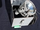 RARE PROJECTEUR LAMPE MORSE MARINE NATIONALE + COFFRET + CABLE - Optique
