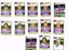Figurine Panini 1984 /Beerschot AC/K Beerschot Antwerpen Club/Belgique/ Football/Fußball X 13 !!! - Football