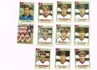 Figurine Panini 1984 /RWD Molenbeek/Football Club Molenbeek Brussels Strombeek/Football/Fußball X 11 !!! - Football
