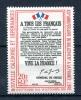 Thème Général De Gaulle - Nouvelle Calédonie Yvert 326 Neuf Xxx Cote 16 Euros - De Gaulle (Generaal)