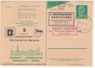 DDR Private Ganzsache, 3 Jahre Philatelie Nauen, Diverse Stempel, 1955 - DDR