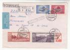 Brief-Kuvert, R-Brief, UdSSR, Moskau - Magdeburg, Luftpost, 1959 - 1923-1991 UdSSR