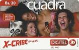 Venezuela - X-Cribe Full - Cuadra - Digitel & GSM 3G, GSM Refill,  Used - Venezuela