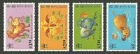 HONG KONG 1997 CHINESE NEW YEAR OX WILDLIFE SET MNH - 1997-... Chinese Admnistrative Region
