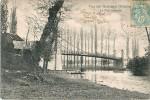 Cpa VICQ SUR GARTEMPE 86 Le Pont Suspendu - Autres Communes