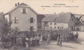 68-GUEWENHEIM Guerre 14-18 Concert Par Le..° Infanterie Sur La Place - Carte Rare - Otros Municipios