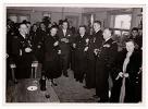 Madame Jacqueline AURIOL Au Mess De La Base Aérienne De VILLACOUBLAY Le 22 Janvier1949_D248 - Aviation
