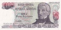 Argentina - 10 Diez Pesos Argentinos (FDC) - Argentine