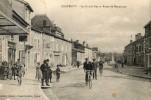 CHATENOISla Grande Rue Et Route De Mannecourt Ecriture Noire - Chatenois