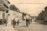 CHATENOISla Grande Rue Et Route De Mannecourt Ecriture Rouge - Chatenois