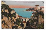 MONACO - N° 746 - RAVIN SAINTE DEVOLTE ET LE PORT- CPA NON VOYAGEE - Monaco