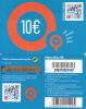 GREECE - MyQ App, Q Telecom Prepaid Card 10 Euro, Used - Grecia