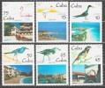 Cuba 1995 Kuba Mi 3881-3886 Birds / Einheimische Vögel **/MNH - Vogels