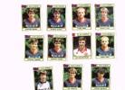 Figurine Panini 1984 /Royal Football Club De Liège/ FC Liégeois/Football Belge/Fußball X 9 !!! - Football