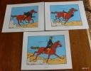 LOT DE 3 EX-LIBRIS TINTIN ~ HERGE MOULINSART 2011 / COKE EN STOCK - Ex-libris