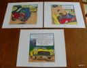LOT DE 3 EX-LIBRIS TINTIN ~ HERGE MOULINSART 2011 / L´ AFFAIRE TOURNESOL - Illustrateurs G - I