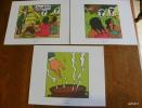 LOT DE 3 EX-LIBRIS TINTIN ~ HERGE MOULINSART 2011 / TINTIN ET LES PICAROS - Ex-libris
