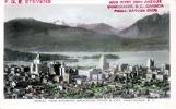 VANCOUVER - AERIAL VIEW SHOWING BROCKTON POINT & CITY, 1948, 3 C Marke, Österr.Zensurstempel - Vancouver