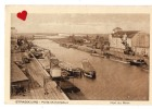 25585-LE-67-STRASBOURG-Ports Municipaux-Port Du Rhin--------péniches - Strasbourg